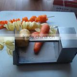 stainless steel electrical industrial potato slicer /potato chips slicing machine/
