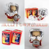 2017 New Low Price Wholesale XHZLC40 60 Fire Rescue chemical respirator fire escape hood smoking gas mask fire maskMANUFACTURER