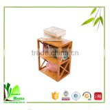 New Product Bamboo Book Shelf for Shelf