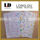 wholesale customized design lovely baby 100% cotton gauze handkerchief