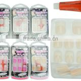 New Design 3D Nail Tips Artificial Nail Tips,French Acrylic Artificial Full Cover Fake False Nail Art Fingernail Tips