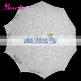 Wholesale 52cm victorian Hook embroidery battenburg lace parasol