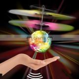 Dropshipping Mini Fun Kids Toy Suspended Crystal Ball Sensing Aircraft Hand Induction Flying Aircraft
