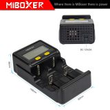 Miboxer New C2-4000 Battery Charger for Li-ion 2 Bay DC Battery Chargers AA NIMH Battery Chargers