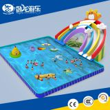 Used water park slide inflatable water park slides for sale