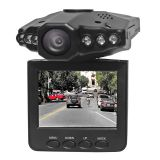 Vasens 2.5 inch 1080P dash cam 270 degree screen whirl with 6 pcs IR LED light car dvr