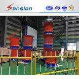 Variable Frequency Power Source AC Resonant Test System for Substation