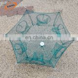 Heavy Duty 12 Holes Umbrella Foldable Fishing Trap Cast net making