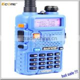 2015 New Blue Baofeng UV-5R Walkie Talkie 4w 128ch Uhf Vhf Dtmf Vox Dual Band Dual Frequency Fm Radio Two Way Radio