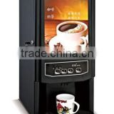 dining type instant powder Coffee vending Machine for commercial use with 3 drink