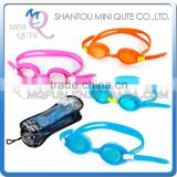 MINI QUTE Outdoor Fun & Sports 4 color kids anti fog fashional Dive swimming goggle face plates mask NO. WMB07033