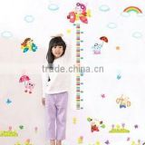removable Children height measurement wall stickers