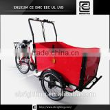 2015 hot sale three wheel electric cargo tricycle / trike / bike / bicycle for family