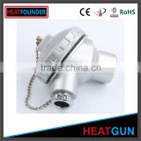 HIGH QUALITY STAINLESS STEEL THERMOCOUPLE HEAD K TYPE ALUMINUM THERMOCOUPLE HEAD ELECTRIC PLUG HEAD