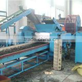 low price high quality whole line crumb rubber making production line for tire recycling machine