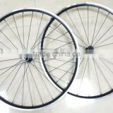 stiffness alloy wheel for road bike 24mm clincher powerway hub complete alloy carbon wheel