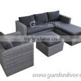Modern sofa cushion cover rattan lowes resin wicker patio furniture                                                                         Quality Choice