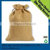 Jute drawstring coco bean bag