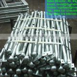 industrial steel handrailing stanchions. galvanized metal handrails. galvanized steel pipe handrails