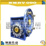 Nmrv090 50:1 low price manual worm gearbox, electric motor speed reducer