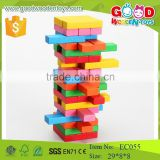 54pcs wooden OEM block jenga classic game with your logo                                                                         Quality Choice