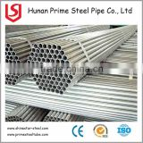 GI hot galvanized steel pipe iron water pipe sizes