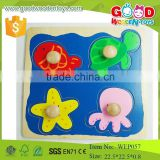 hot items 2015 sea animal jambo wooden peg puzzle for baby