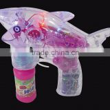 children toy popular light up gun Shark shape bubble gun