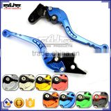 BJ-LS-009 Special Design CNC Adjustable Folding Aluminum Motorcycle Clutch Brake Lever for Kawasaki GTR1400 / CONCOURS