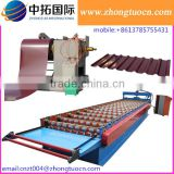 color steel metal roof galvanized glazed trapezoidal wall panel sheet roll forming machine double layer making machine