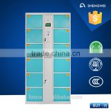 China manufacturer sell swimming pool used 12 drawers combination lock for locker cabinet