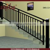 prefab metal stair railing and aluminum railings for outdoor stairs