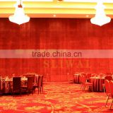 aluminium folding partition and operable partition wall and acoustic movable wall for hotel,restaurant,banquet hall