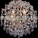New Arrival Wrought Iron Crystal Chandeliers Modern LED Hanging Lamp Pendant Light Chandelier Lighting CZ2100G