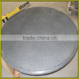 G654 granite top G654 granite round table tops China dark grey granite tops
