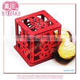 Wooden Wedding Gift Candy Box(wooden craft in laser cut & engraving)
