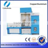 Inlet 0.8-1.2mm 24 Dies Copper Fine Wire Drawing Machine With Continuous Annealer                                                                         Quality Choice