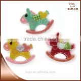 DIY Decoration Accessories for Kids Playing Horse Shape 6pcs/bag Plastic Cartoon Accessories