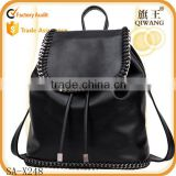 New promotion school girls simple style pu leather waterproof backpack bags                                                                         Quality Choice