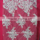 Stock Lace!!!Cording Beaded Tull lace BC060469