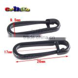 26*9.5mm Plastic Safety Pin Hold Locking Clip For Clothes Baby Cloth Diaper Nappy Craft #FLC277-B