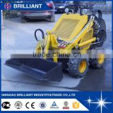 BI400 300kg~400kg Bucket Capacity 0.15m3 Bobcat Mini Skid Steer Loader for Sale                                                                         Quality Choice                                                     Most Popular