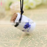 white china antique perfume bottle pendant, arabian perfume bottle