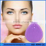 2016 new products on market silicone facial cleansing brush