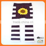 Customer Brand Baby Legging with wide back panel child tube sock
