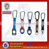 Best selling novelty design carabiner short lanyard strap for world cup 2014