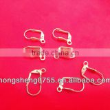 Fashion Brass Earring Hooks Jewelry Accessories