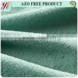 Wholesale green bounding polyester jacquard fabric for upholstery