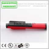 handy size red and black led machine work light pen light