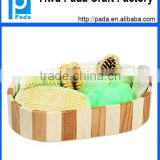 Customized Wooden Basket SPA Gift Set
